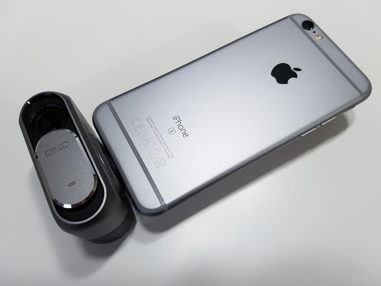 iPhone und DxO One in voller Pracht.