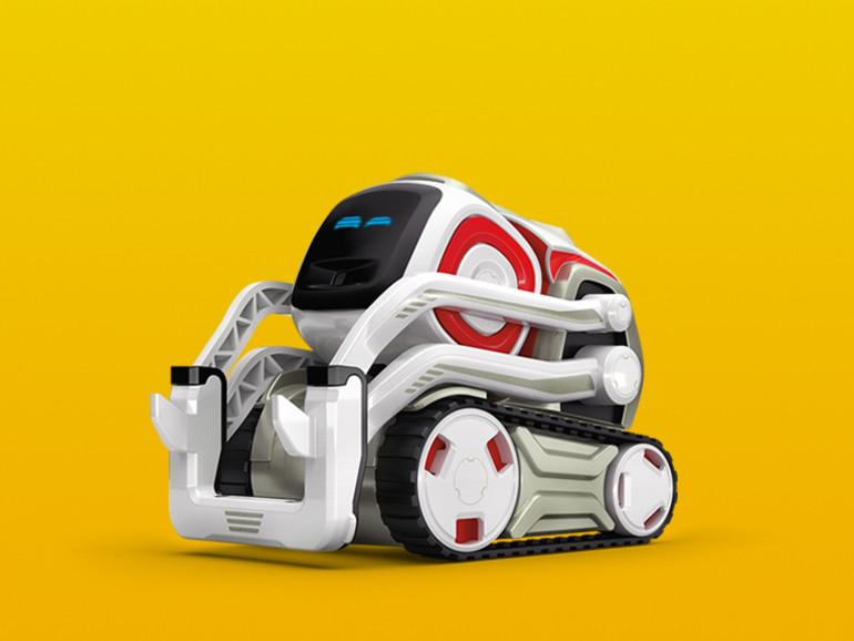 Cozmo ist ein kleiner Spielzeugroboter mit Emotionen