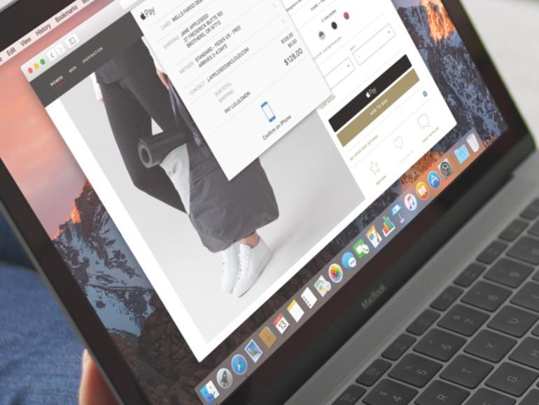 macOS Sierra auf einem MacBook
