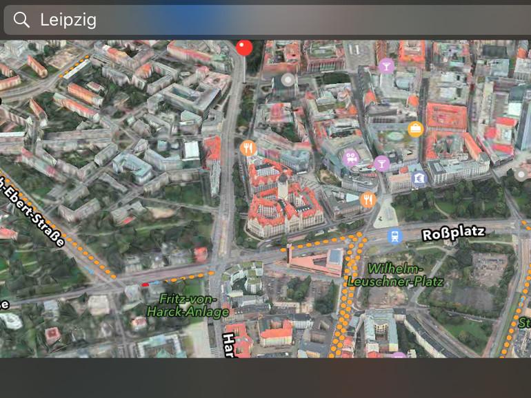 Auch Leipzig gibt es nun in Flyover