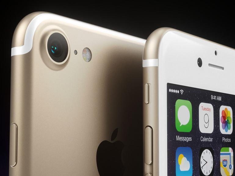 iPhone 7 in Gold, wie es ein Designer sich vorstellt
