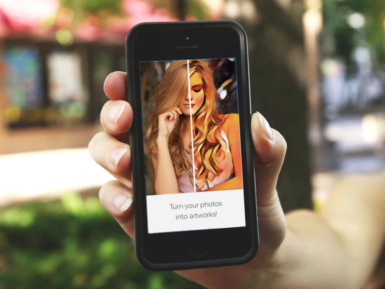 Fotos in Kunstwerke verwandeln, mit Prisma am iPhone