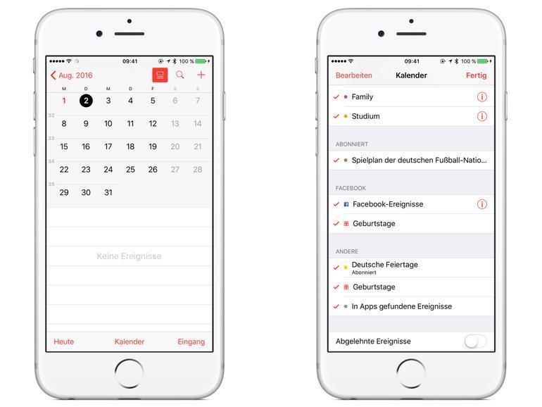 iphone kalender einträge löschen