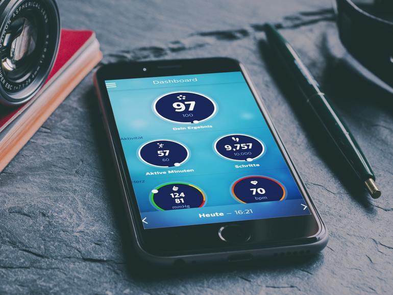 Die Health-Geräte von Philips synchronisieren alle Daten in die eigene Health-App