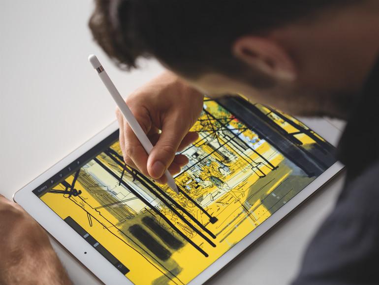 iPad Pro 12,9 Zoll mit Apple Pencil