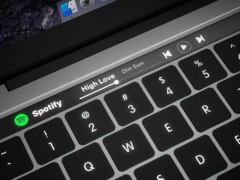Die neuen MacBook Pro sollen eine OLED-Touch-Leiste erhalten