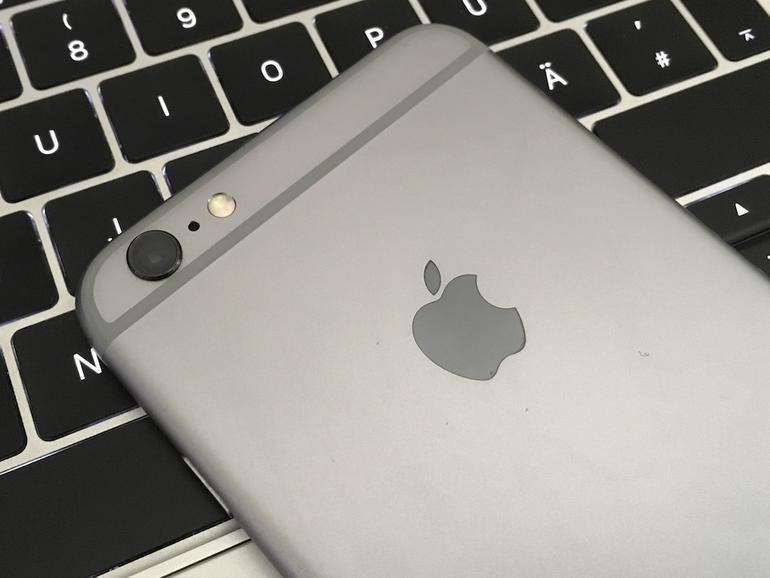 Kamera des iPhone 6s Plus mit optischem Bildstabilisator