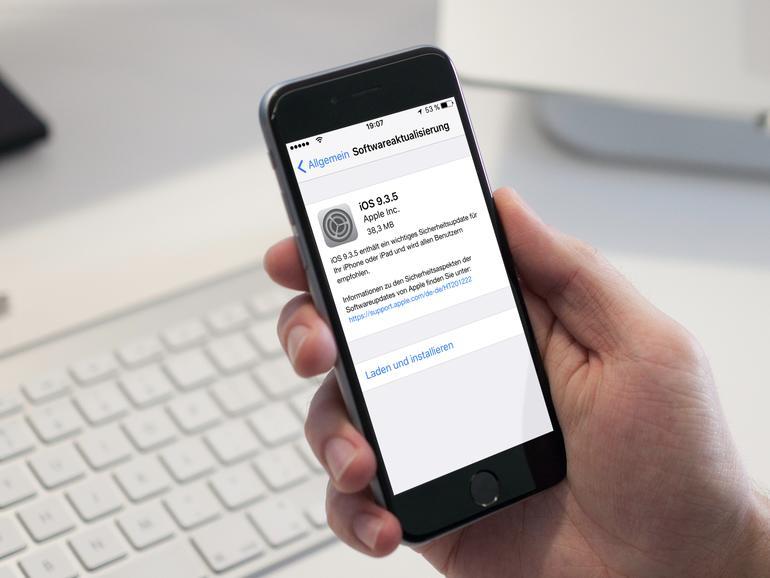 iOS 9.3.5 für iPhone