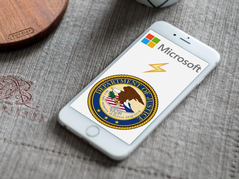 Microsoft erhält Unterstützung bei Klage gegen das Justizministerium
