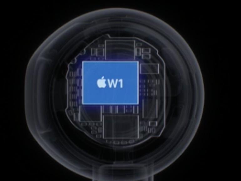 AirdPods mit W1-Chip