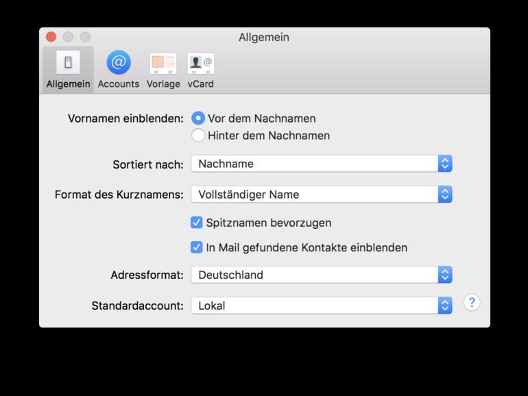 Kontakte am Mac sortieren - so einfach geht\'s | Mac Life