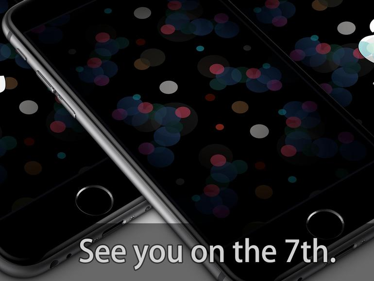 Es gibt passende Wallpaper zum iPhone-7-Event