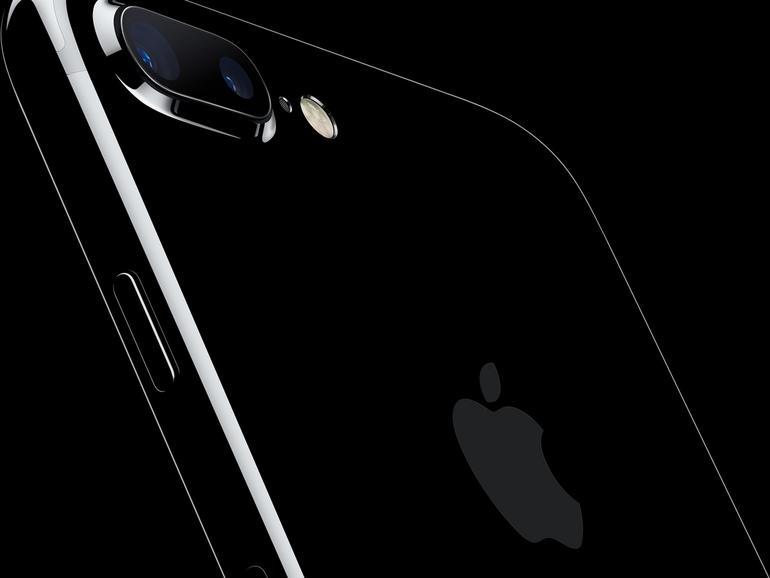 iPhone 7 in Diamantschwarz
