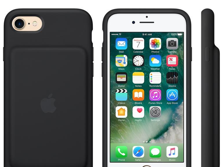 Das Smart Battery Case verdoppelt die Akkulaufzeit des iPhone 7