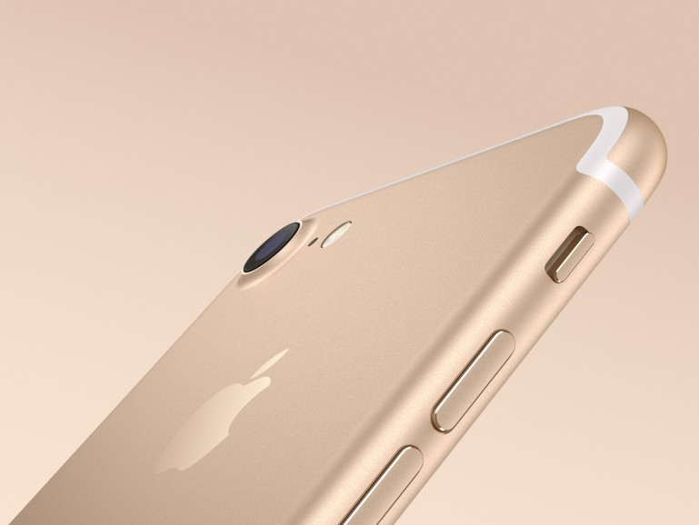 iPhone 7 in Gold