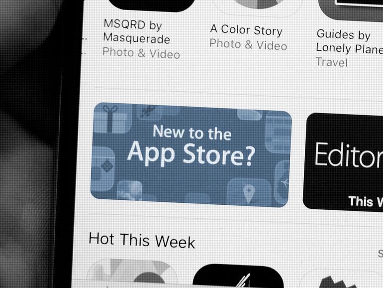 App Store auf dem iPhone