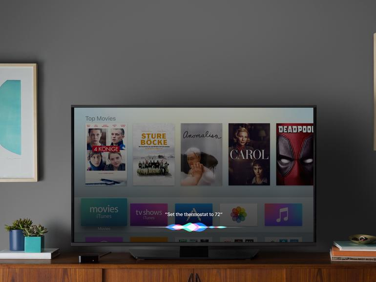 Apple TV der 4. Generation mi tvOS 10