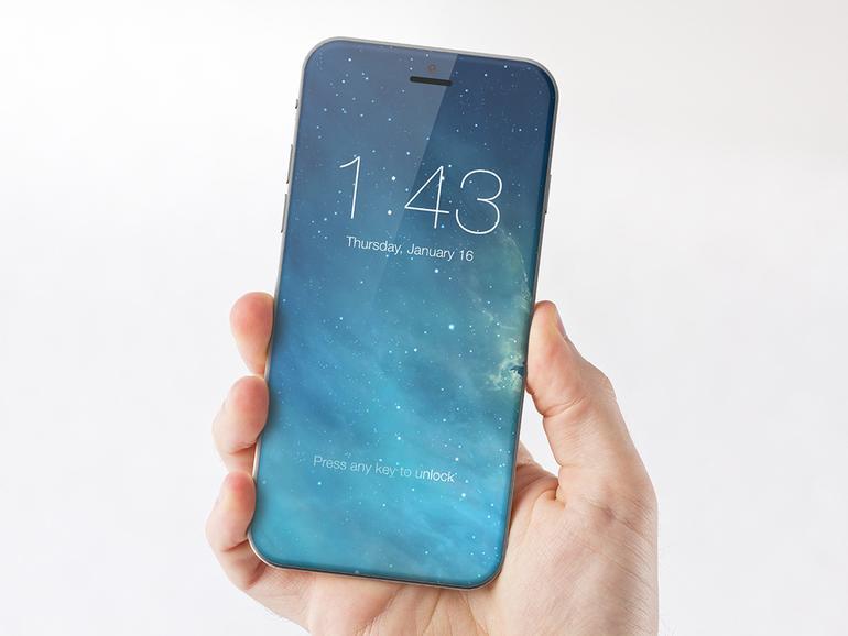 Konzept eines möglichen iPhone 8