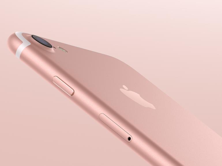 iPhone 7 in Roségold