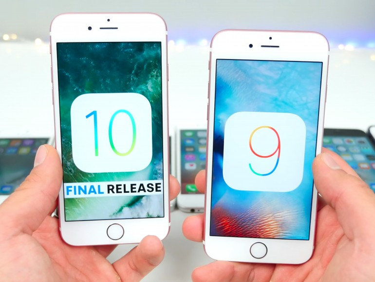 iOS 10 und iOS 9 im Vergleich