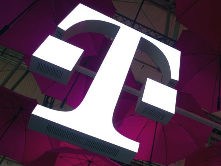 T-Mobile USA Logo beleuchtet