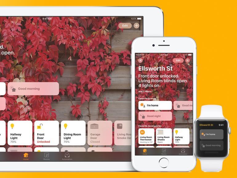 Home-App in iOS 10 und watchOS 3