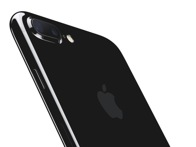 iPhone 7 Plus in Diamantschwarz