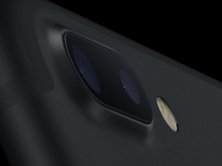 iPhone 7 Plus in Schwarz