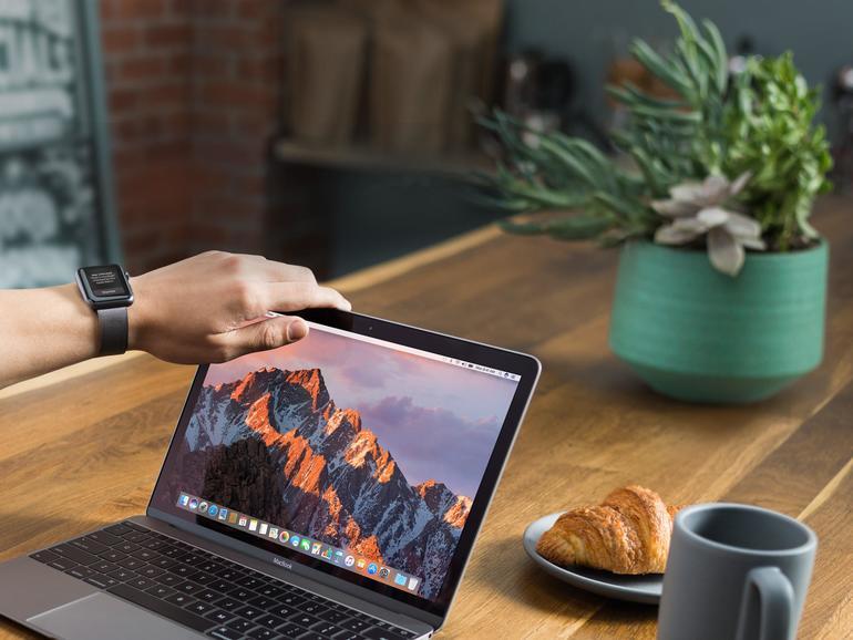 Apples Präsentation zeigte, wie man ein MacBook automatisch entsperrt.