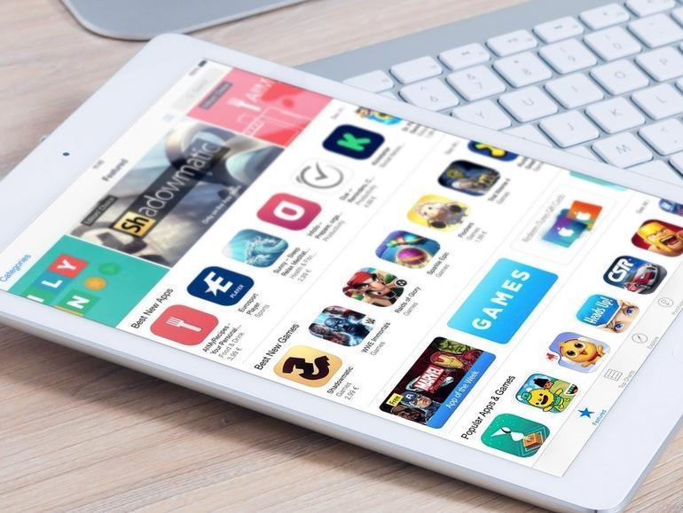 App Store auf dem iPad Air