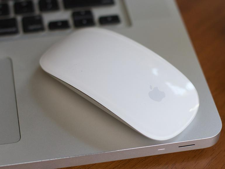 MacBook und Magic Mouse