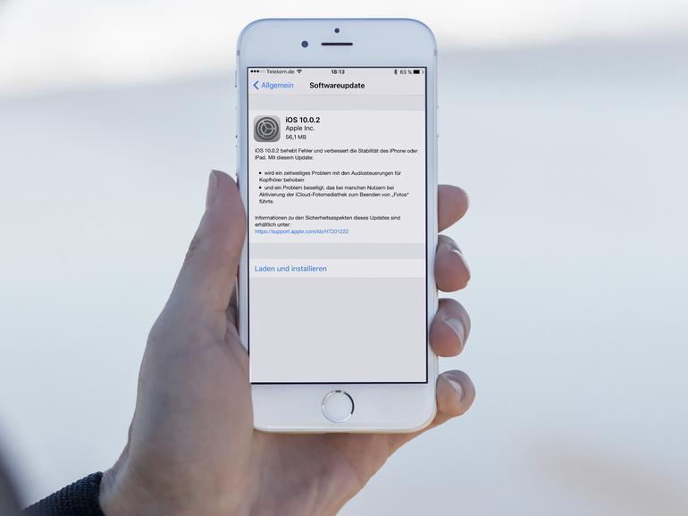 iOS 10.0.2