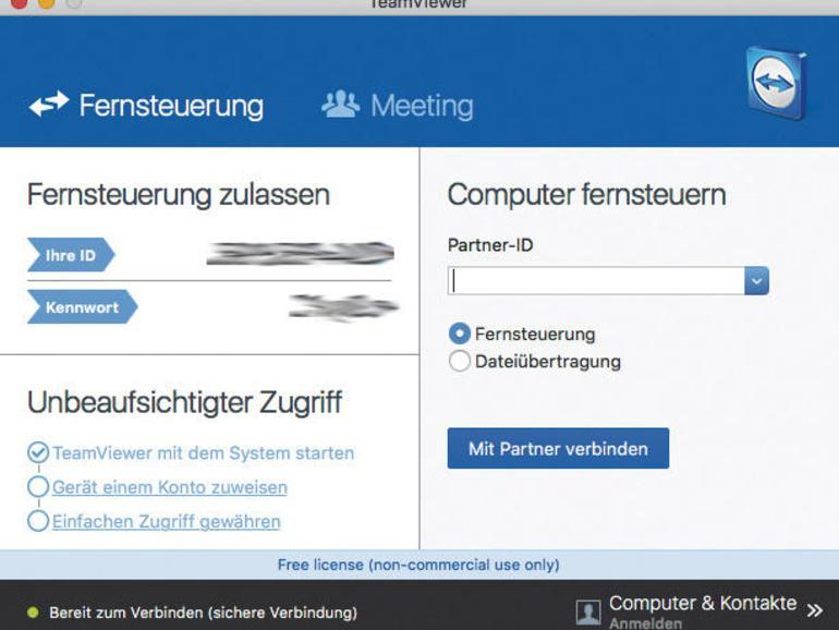 Fernzugriff mit VNC-Apps: Mac mit iPhone oder iPad steuern