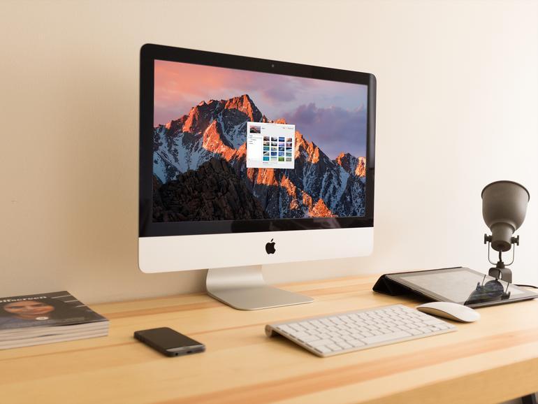 iMac: Hintergrundbild ändern