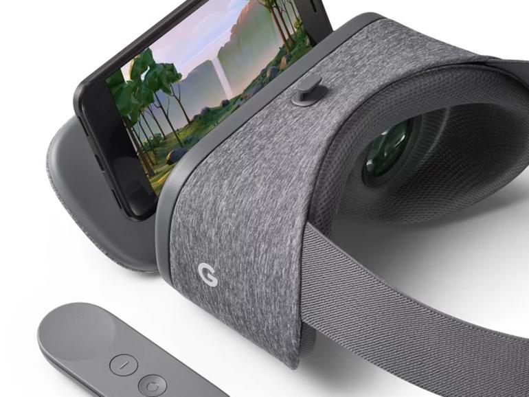 Daydream View: VR-Headset von Google