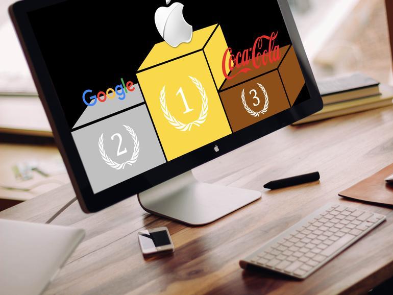 vor google und coca cola apple bleibt wertvollste marke der welt mac life. Black Bedroom Furniture Sets. Home Design Ideas