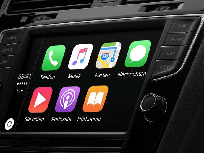 carplay kabellos ab 2017 bei bmw in 5er limousinen mac life. Black Bedroom Furniture Sets. Home Design Ideas