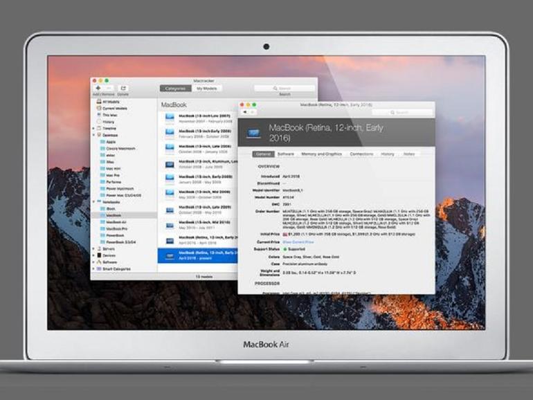 Mactracker 7.6: Alle neuen Apple-Geräte im Überblick