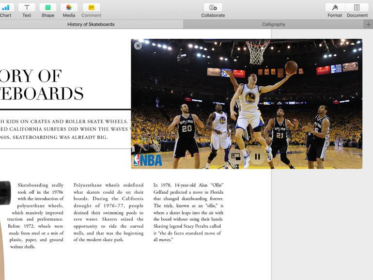 macOS Sierra: Tabs und Bild-in-Bild kombiniert