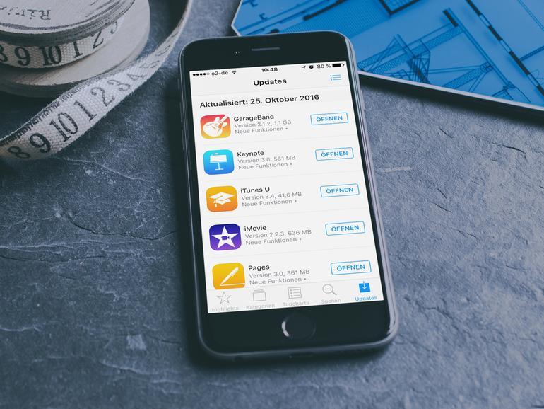 Gestern Abend gab es nicht nur ein Update für iOS