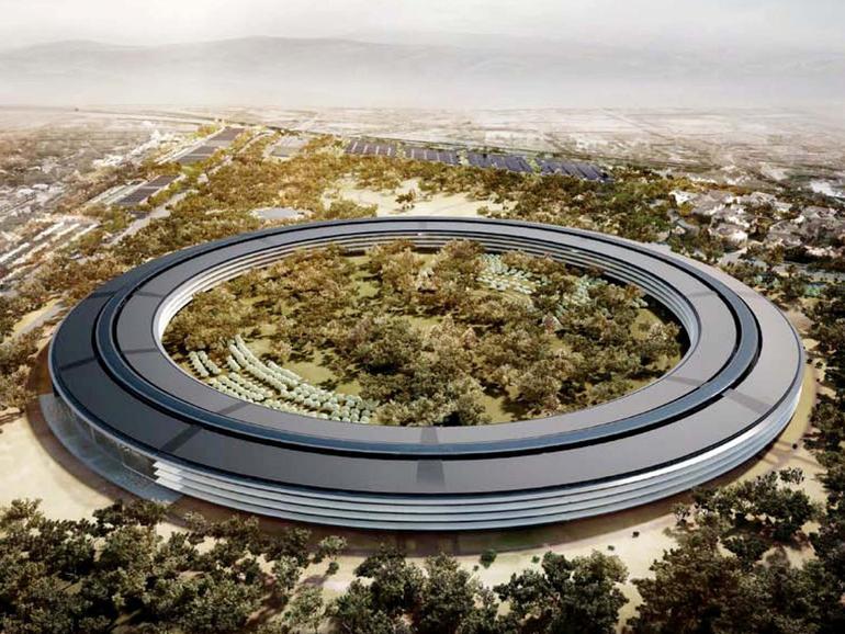 Apples Campus 2 wird einen R&D-Flügel erhalten