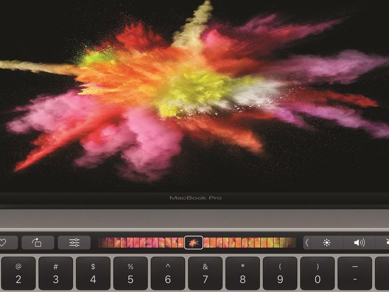Das MacBook Pro hat ein zweites Display erhalten