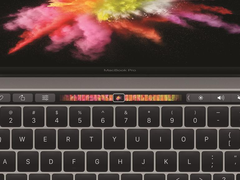 Apple hat lange auf die Touch Bar hingearbeitet