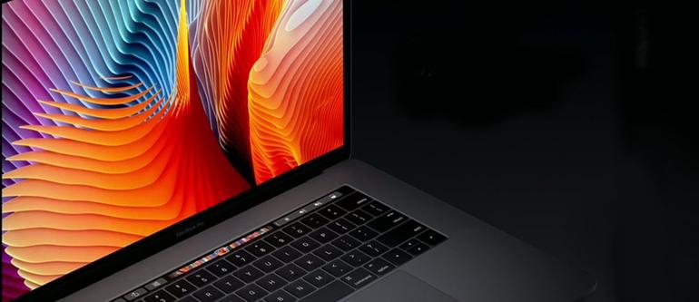 Touch Bar des MacBook Pro