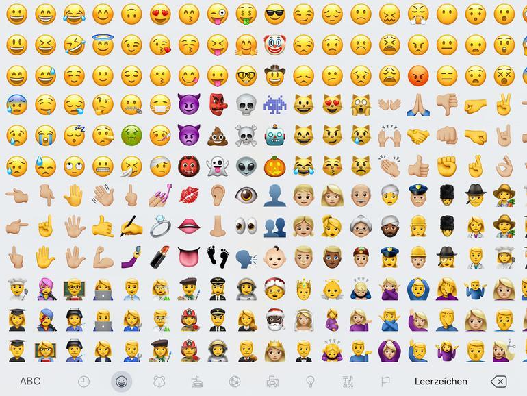 Bedeutung Neue Emojis