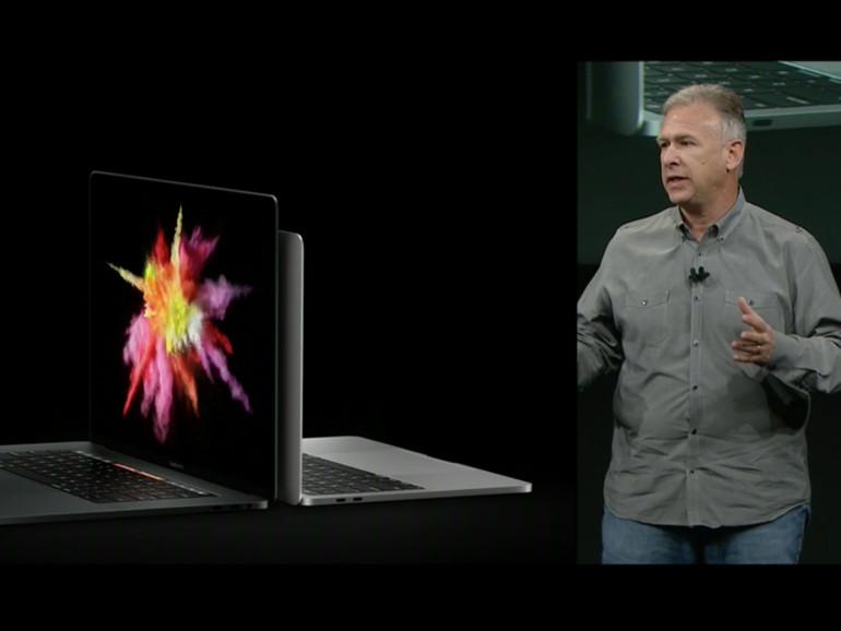 Phil Schiller stellt das MacBook Pro vor