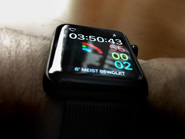 Apple Watch Series 2: Fitness-Zifferblatt
