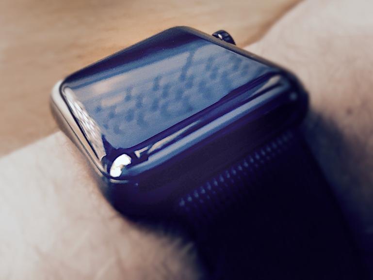 Apple Watch Series 2 mit Nylon-Armband