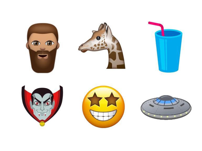 Unicode 10: 51 neue Emojis wurden für nächstes Jahr bestätigt