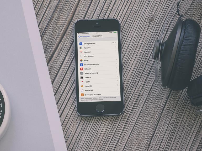 Datenschutz in iOS